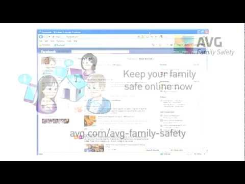 AVG Family Safety | Tips & Tricks | Social Networking Tutorial