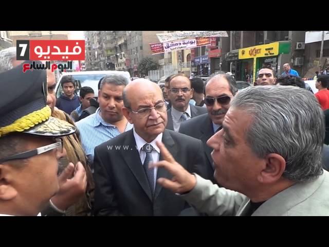 """بالفيديو.. مواطن لمحافظ الجيزة: """"موقف المريوطية بيذلنا"""""""