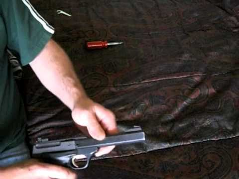 review of browning buck mark .22 pistol