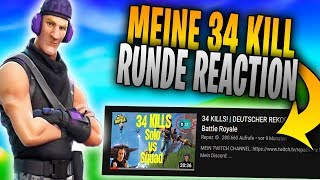 Meine 34 Kills Runde! Solo vs Squad 😱 (React)