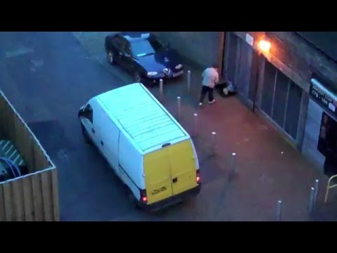 20 Feb 2016 : Early Morning Scrap Collection Nuisance : Camden