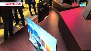 CES 2018 - I nuovi TV Sony e il display 8k