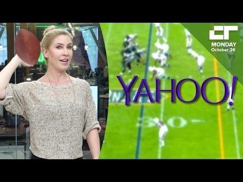 15M Viewers Watch Yahoo's First NFL Livesteam | Crunch Report