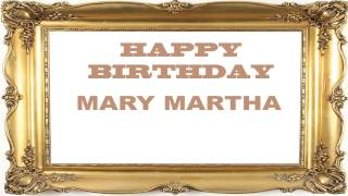 Mary Martha   Birthday Postcards & Postales7