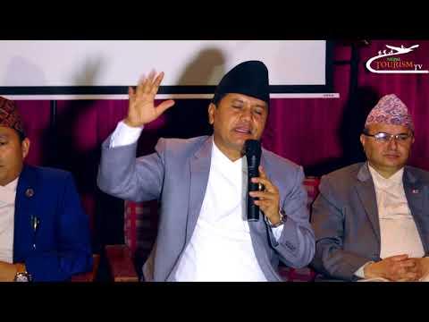 Tourism Minister Rabindra Adhikari