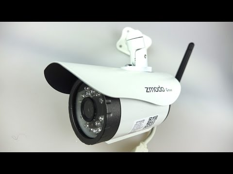 Simple Cheap Effective Outdoor WiFi Night-vision IP camera