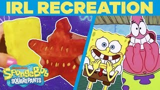 The Ugly Barnacle IRL + More Crazy Recreations! 📘 | #SpongeBobSaturdays