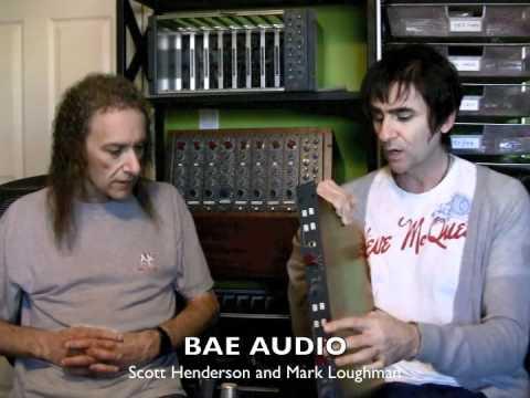 Scott Henderson @ BAE audio