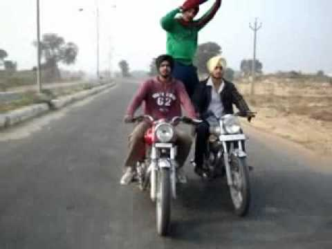 Bullet Stunts In Punjab Amazing Stunts Car Jeep Motorcycles Bike Must Video video