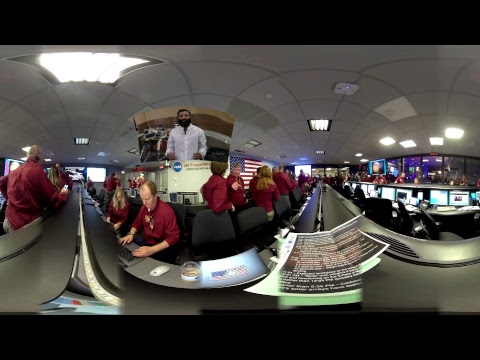 Mission Control Live: NASA InSight Mars Landing (360 video)