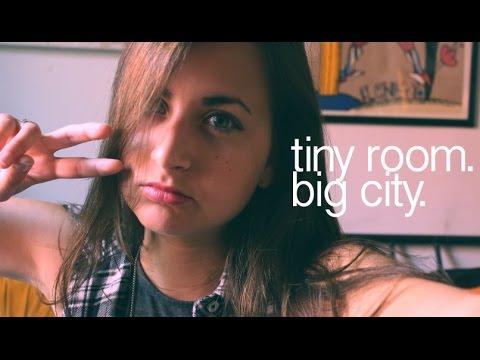 tiny room. BIG CITY.