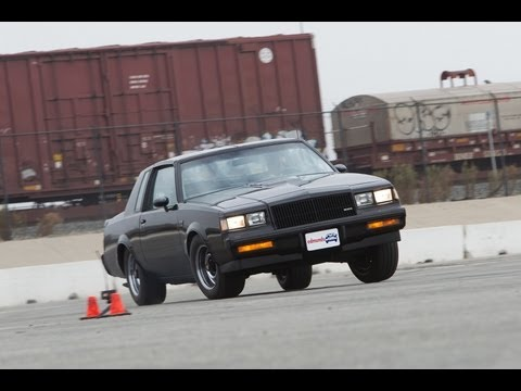 Track Tested: 1987 Buick Regal Grand National -- Edmunds.com