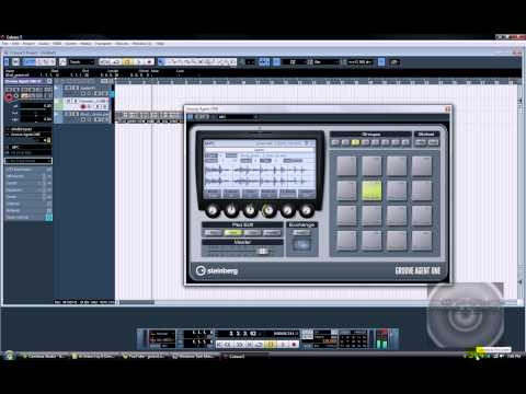 Chopping a sample in Cubase 5. Groove Agent One