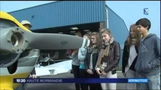 Le BIA à l'aéroclub de Dieppe
