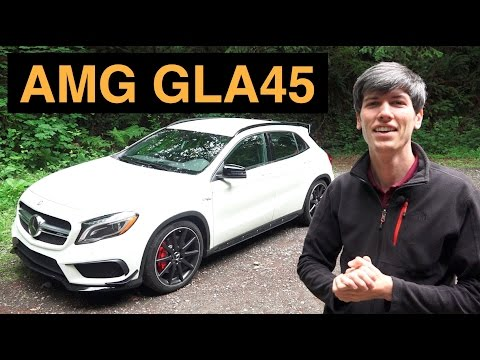 2015 Mercedes-Benz GLA45 AMG - Review & Test Drive
