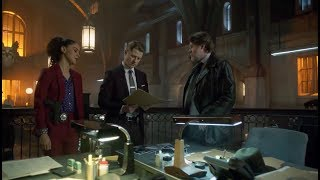 Gordon & Harvey Try To Solve A Series Of Bank Robberies | Season 4 Ep. 19 | GOTHAM