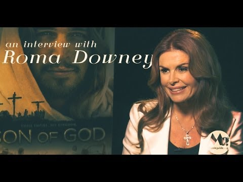 SON OF GOD Interview; feat: ROMA DOWNEY