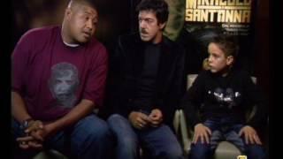 PIERFRANCESCO FAVINO - MATTEO SCIABORDI - OMAR BENSON MILLER - intervista (MIRACOLO A SANT'ANNA film