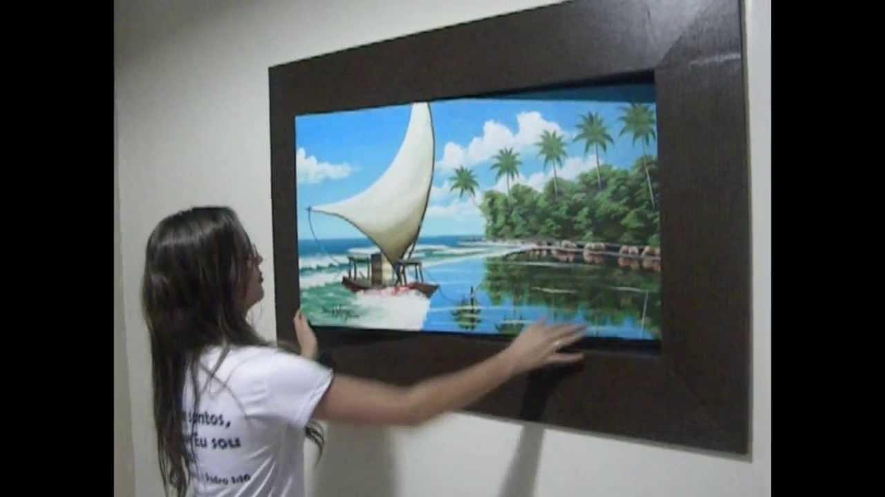 Fotos De Sala Com Tv Lcd Na Parede ~ TV GIRATÓRIA  YouTube