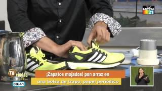 Tips Caseros: Secar fácilmente los zapatos, limpiar la licuadora y más