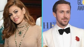 Eva Mendes Coyly Responds to Ryan Gosling