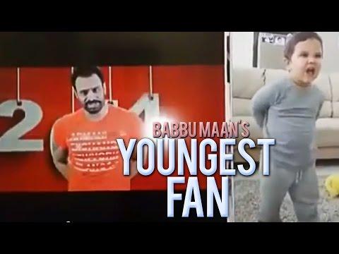 Youngest Fan of Babbu Maan