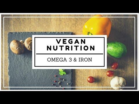 VEGAN NUTRITION PART 1: Iron, omega 3/6 + How Many Calories do I need?