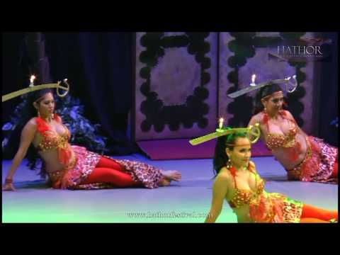 Hathor Festival 2016 - Show de Gala - Cia Belly Dance Jungle