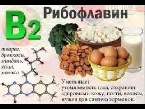 Витамины и здоровье. B2. Ольга Зелепухина.