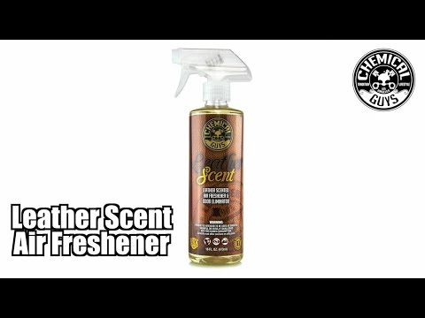 leather scent air freshener and odor eliminator chemical guys car care how to make do. Black Bedroom Furniture Sets. Home Design Ideas