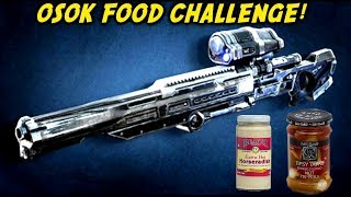Gears of War UE OSOK FOOD CHALLENGE! Hot Peppers & Horseradish With TheRazoredEdge!
