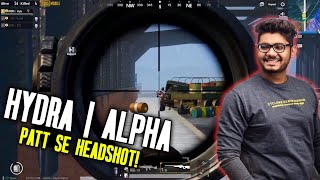 H¥DRA | Alpha ka PATT SE HEADSHOT 😎👻|| PUBG MOBILE FUNNY HIGHLIGHTS!