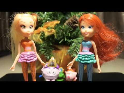 Клуб Винкс - Сборник #7 Сюрпризы игрушки распаковка  Мультики о феях на русском Winx Club
