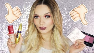 FULL FACE OF DRUGSTORE FIRST IMPRESSIONS! // MyPaleSkin