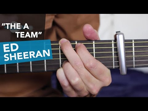 The A Team - Ed Sheeran Guitar Lesson Tutorial - Acoustic