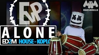 Download MARSHMELLO - ALONE (HOUSE-KOPLO) | [EvP REMIX] 3Gp Mp4