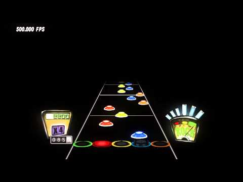 Guitar Hero 3 Jordan Mirror Chart Preview