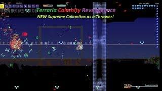 NEW Supreme Calamitas Revengeance Throwing Kill! - Terraria Calamity Revengeance