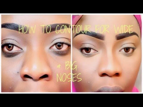 How To Contour For A Wider Bigger Nose   Tree of Life Techniques