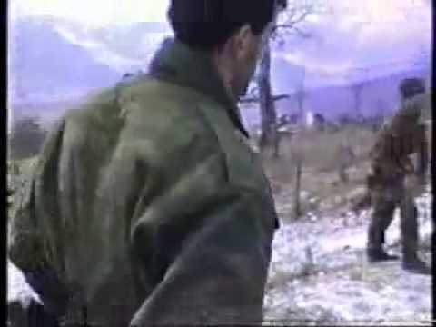 Russian terrorists with Serbs attacking Bosnia