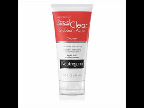 Neutrogena OilFree Acne Wash Facial Cleanser Pink