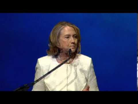Hillary Clinton back in limelight with women empowerment speech — MSNBC