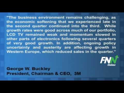3M Profit Falls For Q3, Cuts 2011 Sales Growth Target