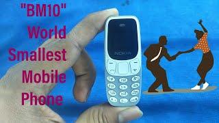 World's smallest mini Mobile Phone