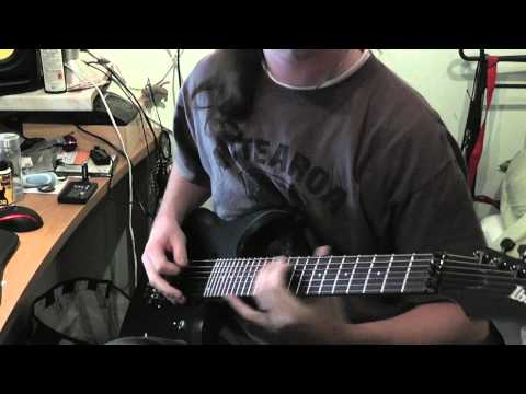 Iced Earth - Days of Rage guitar cover