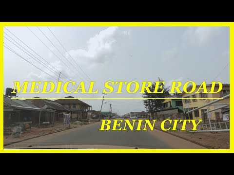 A DRIVE THROUGH MEDICAL STORE ROAD BENIN CITY, NIGERIA.