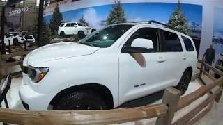 2020 Toyota Sequoia TRD Pro Quick walk around