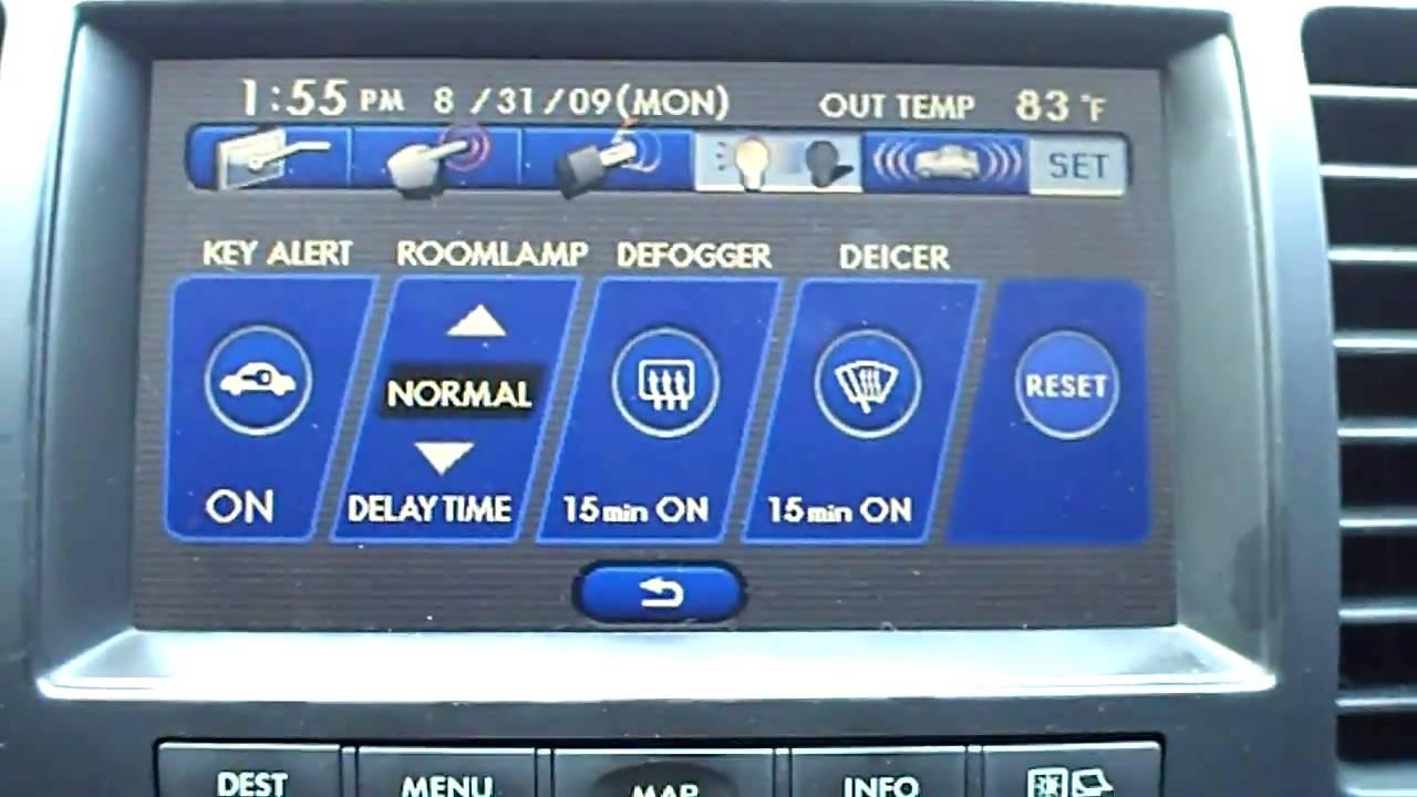 Subaru Factory Navigation Youtube