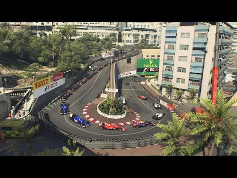 F1 2015 Monaco - Max Verstappen - Highlights