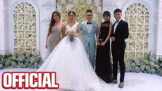 Trấn Thành Dương Triệu Vũ Hari Won BB Trần Nam Thư và Hải Triều quậy tưng bừng tại đám cưới em gái